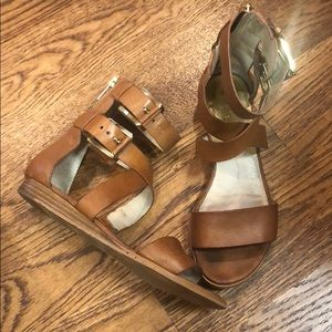 Michael Kors Luggage Sandals